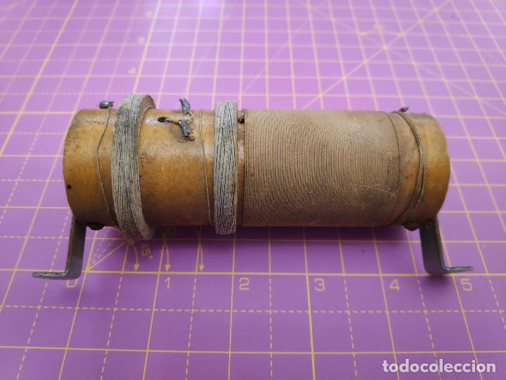 Radios antiguas: Lote de 2 bobinas grandes de radio - Foto 7 - 153103022