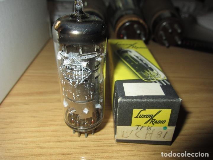 VALVULA UCH81 NUEVA (Radios, Gramófonos, Grabadoras y Otros - Repuestos y Lámparas a Válvulas)