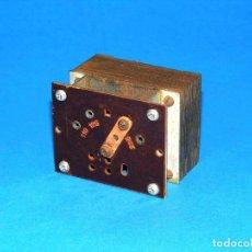 Radios antiguas: TRANSFORMADOR DE ALIMENTACIÓN PARA RADIO A VÁLVULAS POINT BLEU 192.. Lote 156028366