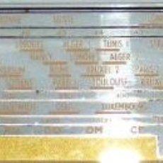 Radios antiguas: CRISTAL DE DIAL PARA RADIO A VÁLVULAS POINT BLEU 192.. Lote 156029238