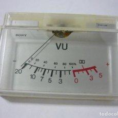 Radios antiguas: VÚMETRO SONY AÑOS 70. Lote 156629598