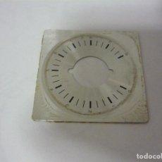 Radios antiguas: PLACA METÁLICIA PARA DIAL SONY. Lote 156630562