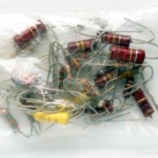 Radios antiguas: COMPONENTES ELECTRÓNICOS ANTIGUOS. Lote 156666842