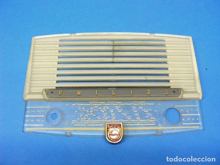 FRONTAL CON DIAL PARA RADIO PHILIPS B1F61A (Radios, Gramófonos, Grabadoras y Otros - Repuestos y Lámparas a Válvulas)