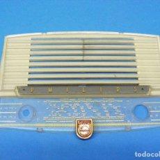 Radios antiguas: FRONTAL CON DIAL PARA RADIO PHILIPS B1F61A. Lote 157201332