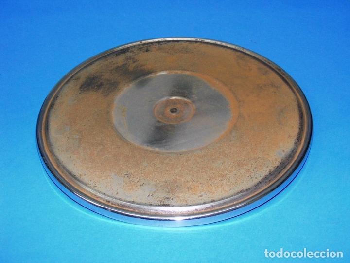 PLATO PARA GRAMOLA DE 25 CMS. (Radios, Gramófonos, Grabadoras y Otros - Repuestos y Lámparas a Válvulas)
