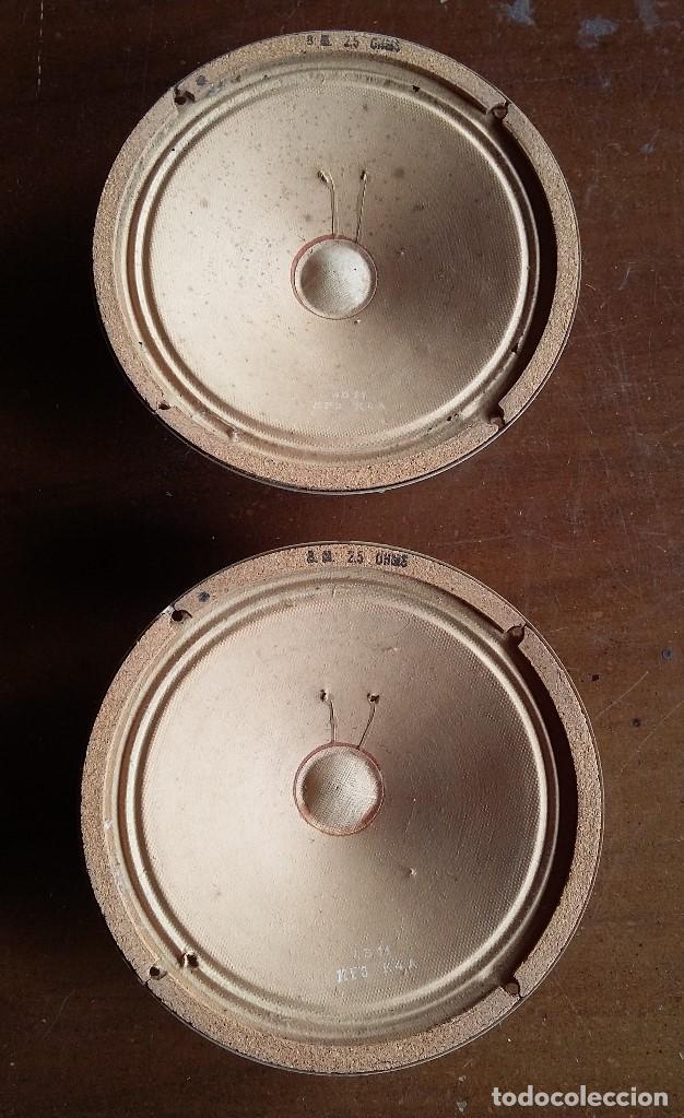 ALTAVOCES 2,5 OHMIOS MARCA AUDAX (Radios, Gramófonos, Grabadoras y Otros - Repuestos y Lámparas a Válvulas)