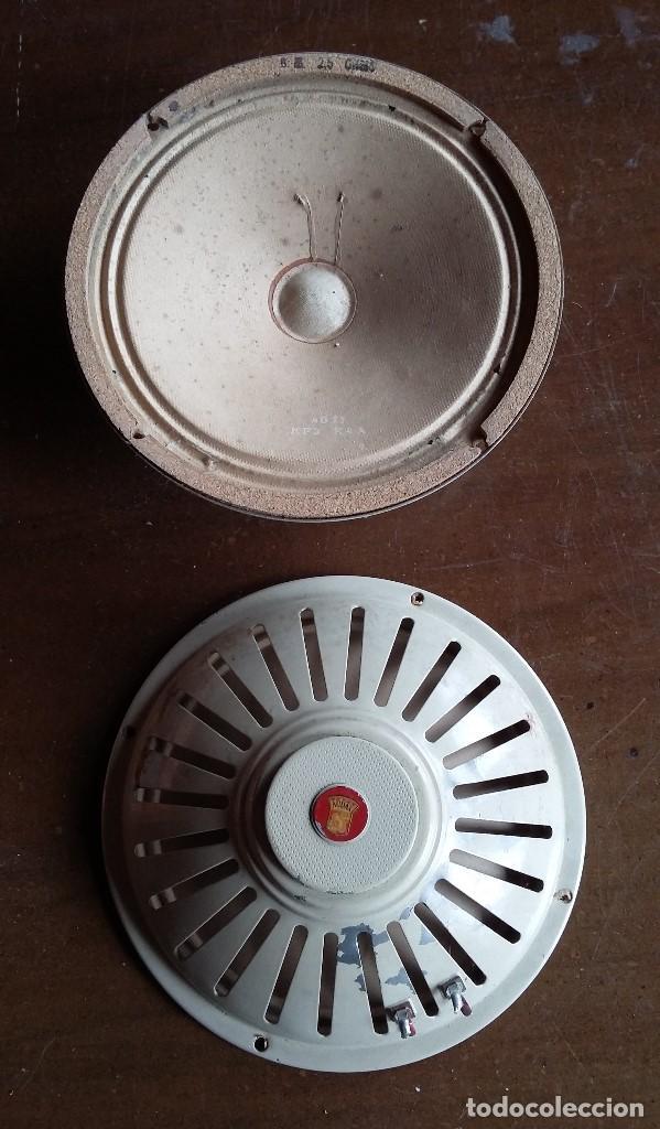 Radios antiguas: Altavoces 2,5 ohmios marca audax - Foto 2 - 158385354