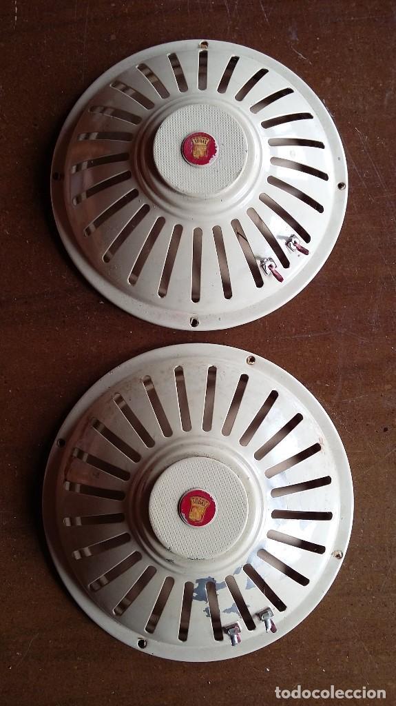 Radios antiguas: Altavoces 2,5 ohmios marca audax - Foto 3 - 158385354