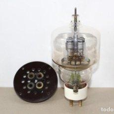 Radios antiguas: ANTIGUA VALVULA TRIODO DE POTENCIA EIMAC VT 129/304 TL (MADE IN USA) CON ZOCALO. - AÑOS 50. Lote 160493018