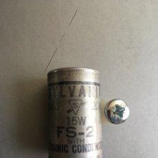 Radios antiguas: ANTIGUO FUSIBLE PARA COLECCION. Lote 161874356