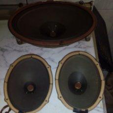 Radios antiguas: (5) ALTAVOCES DE RADIO GRUNDIG. Lote 162610438