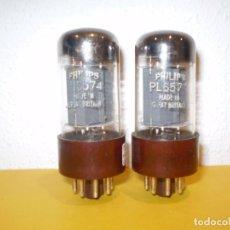 Radios antiguas: 2 X PL6574-EN32-PHILIPS PROBADAS Y OPERATIVAS.. Lote 165263182