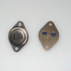 Radios antiguas: LOTE DE 2 TRANSISTORES BU500. N.O.S (NUEVOS). Lote 165975686