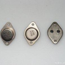 Radios antiguas: LOTE DE 3 TRANSISTORES BU105. N.O.S (NUEVOS). Lote 165976370