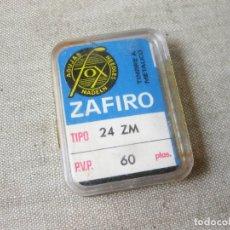Radios antiguas: AGUJA DE TOCADISCOS MARCA FOX ZAFITO TIPO 24 ZM. Lote 166830750