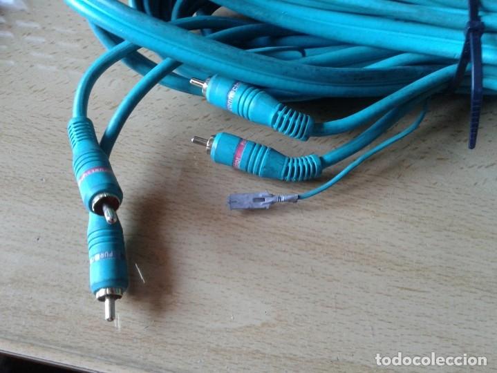 Radios antiguas: CABLE APARATOS SONIDO COCHE - Foto 2 - 167660764