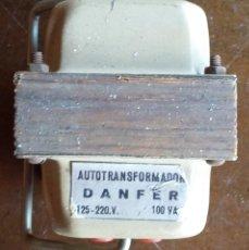 Radios antiguas: TRANSFORMADOR ALIMENTACION 125 A 220 VOLTIOS 100 WATIOS.. Lote 168081920