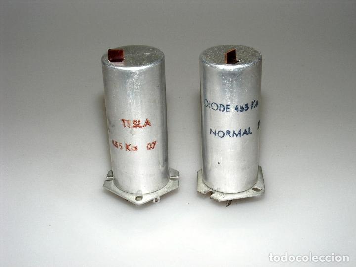 JUEGO DE BOBINAS DE F.I. PARA A.M. - 455 KCS. (Radios, Gramófonos, Grabadoras y Otros - Repuestos y Lámparas a Válvulas)