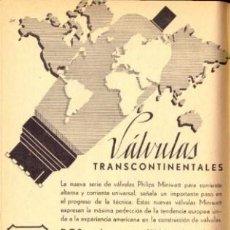 Radios antiguas: VALVE DATA CD.ROM GENERAL INFORMATION. Lote 168629538