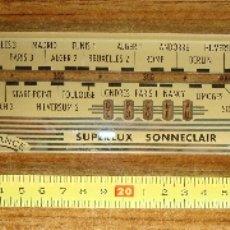 Radios antiguas: ANTIGUO CRISTAL DIAL DE RADIO . Lote 172107344