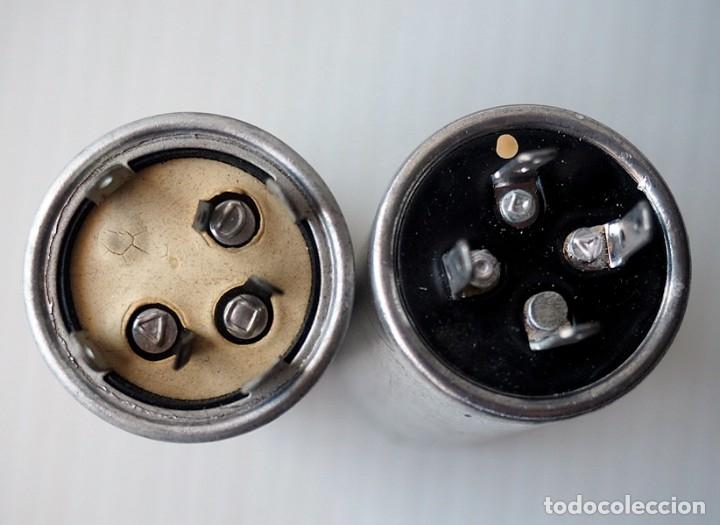 Radios antiguas: Lote de 2 condensadores. Bianchi y Saeco Trevoux - Foto 2 - 172566819