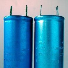 Radios antiguas: LOTE DE 2 CONDENSADORES BIANCHI. Lote 172567445
