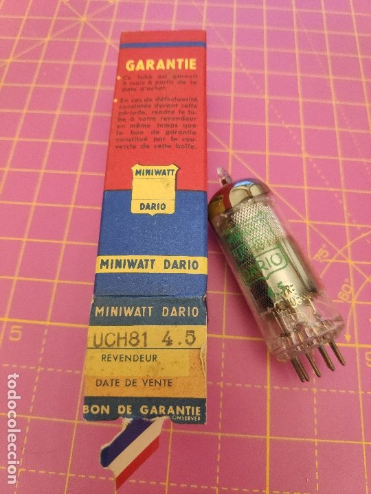 VÁLVULA UCH81 - MINIWATT DARIO - NUEVA (Radios, Gramófonos, Grabadoras y Otros - Repuestos y Lámparas a Válvulas)