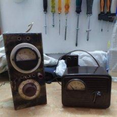 Radios antiguas: LOTE DE DOS ESTABILIZADORES DE TENSIÓN ANTIGUOS. Lote 174027197