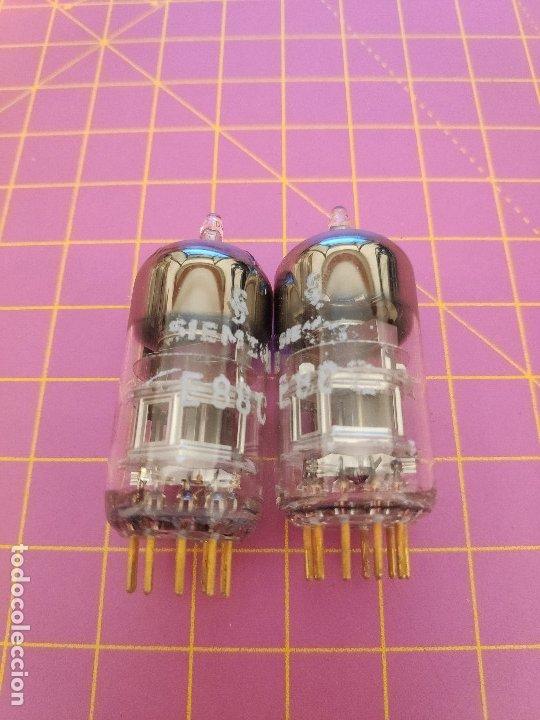 2 VÁLVULAS E88C - SIEMENS - TESTADAS (Radios, Gramófonos, Grabadoras y Otros - Repuestos y Lámparas a Válvulas)