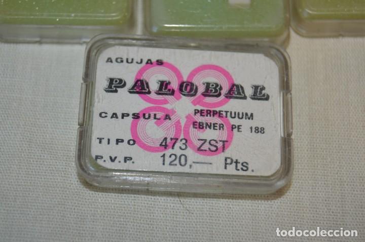 Radios antiguas: Lote de 10 ANTIGUAS AGUJAS PALOBAL ZAFIRO 473 ZST - Para capsula PERPETUUM EBNER PE 188 ¡Mira! - Foto 3 - 207461621