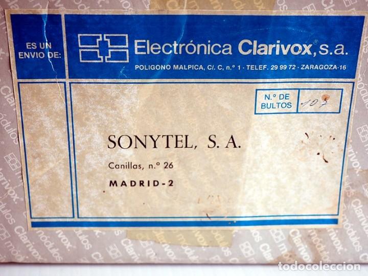 Radios antiguas: Módulo Z96X de electrónica Clarivox. Años 80. En caja original - Foto 5 - 176211205