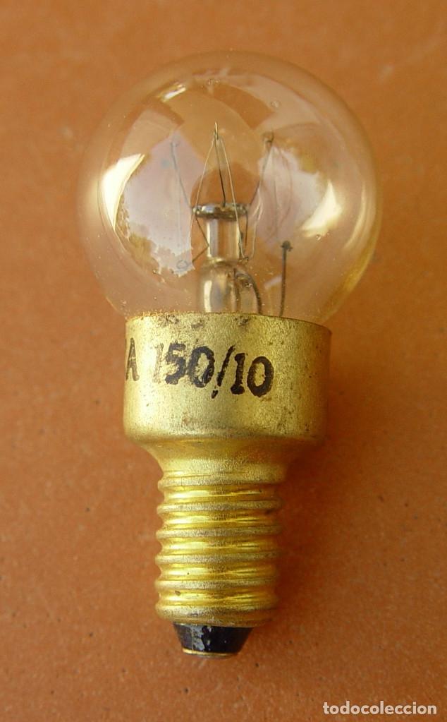 Radios antiguas: Bombilla Piloto de dial radio, lampara de rosca E10 150V ....sanna - Foto 2 - 177796213