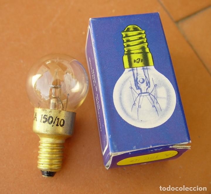 BOMBILLA PILOTO DE DIAL RADIO, LAMPARA DE ROSCA E10 150V ....SANNA (Radios, Gramófonos, Grabadoras y Otros - Repuestos y Lámparas a Válvulas)