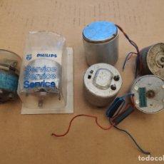 Radios antiguas: 6 MOTORES ELÉCTRICOS PARA EQUIPOS ELECTRÓNICOS. Lote 178182151