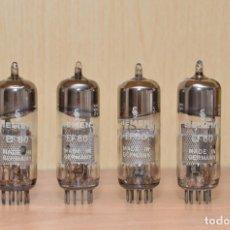 Radios antiguas: 4 VALVULAS EF80. Lote 178252985