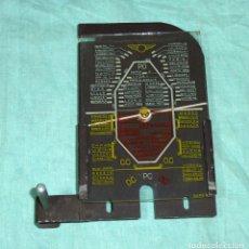 Radios antiguas: ANTIGUO DIAL DE CRISTAL CON SOPORTE.RADIO FRANCESA.. Lote 179117423