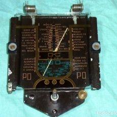 Radios antiguas: ANTIGUO DIAL DE CRISTAL CON SOPORTE.RADIO FRANCESA.. Lote 179117470