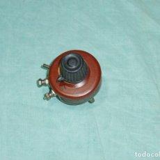 Radios antiguas: ANTIGUO REOSTATO DE 20 OHMS.. Lote 179339425