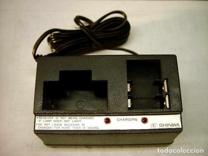 CARGADOR DE BUSCAPERSONAS SHINWA SO-721B...SANNA (Radios, Gramófonos, Grabadoras y Otros - Repuestos y Lámparas a Válvulas)