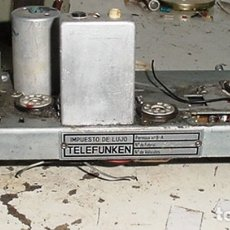 Radios antiguas: RESTOS RADIO TELEFUNKEN CAPRICHO U-2025 FM. Lote 179527292