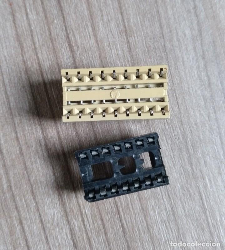 Radios antiguas: electronica, lote 2 porta circuito integrado - nuevos - Foto 2 - 180092477