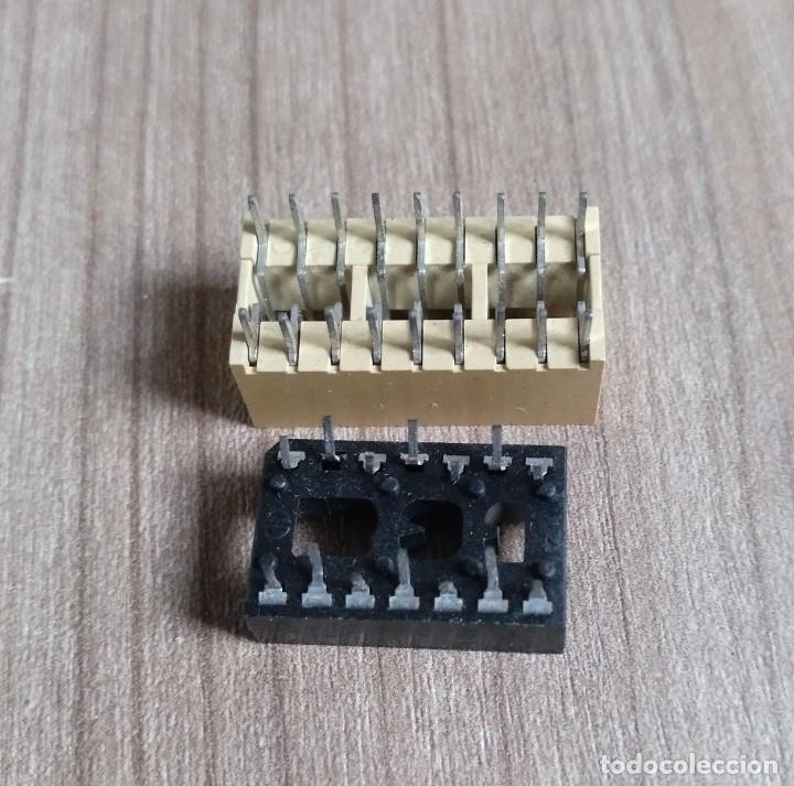 Radios antiguas: electronica, lote 2 porta circuito integrado - nuevos - Foto 4 - 180092477
