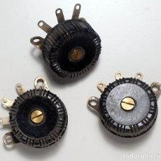 Radios antiguas: COMPONENTES ELECTRÓNICOS ANTIGUOS. . Lote 180277176