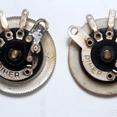 Radios antiguas: COMPONENTES ELECTRÓNICOS ANTIGUOS. . Lote 180277435