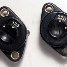 Radios antiguas: COMPONENTES ELECTRÓNICOS ANTIGUOS. . Lote 180277508