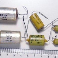Radios antiguas: COMPONENTES ELECTRÓNICOS ANTIGUOS. . Lote 180278506