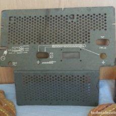 Radios antiguas: TAPA TRASERA DE RADIO DE VÁLVULAS ANTIGUA.. Lote 180481303