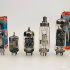 Radios antiguas: TELEFUNKEN LOTE VÁLVULAS. Lote 180920402