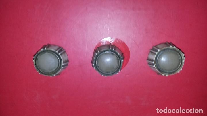 LOTE BOTONES PARA RADIO VALVULAS. (Radios, Gramófonos, Grabadoras y Otros - Repuestos y Lámparas a Válvulas)